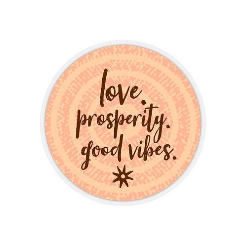 Prosperity | Kiss-Cut Stickers