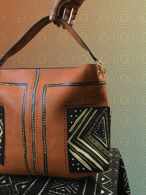 Zinsa | 2-in-1 Hobo Tote Bag | Brown