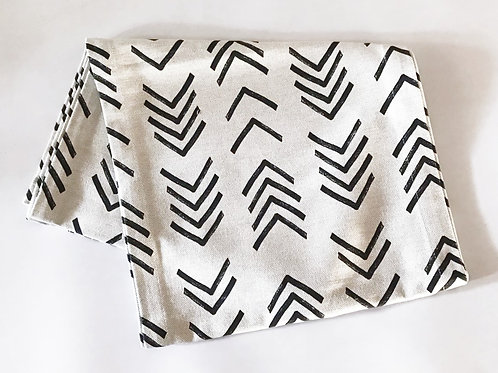 African Sickle Print Table Runner