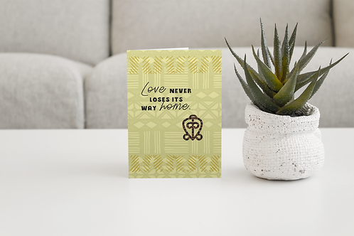 Love Never Loses | Anniversary Greeting Card