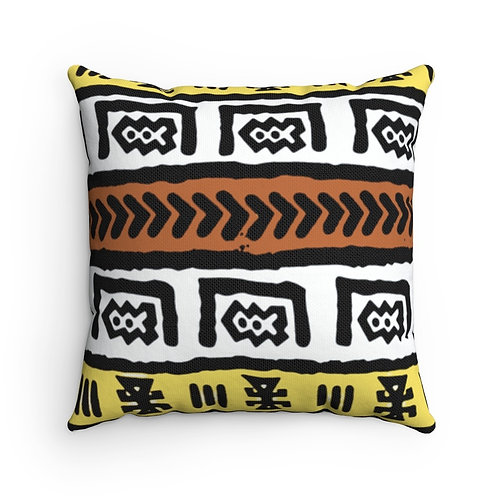Fresh Prints Throw Pillow African Print | Spun Polyester Square Pillow