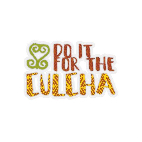Do it for the Culcha Sankofa | Kiss-Cut Stickers