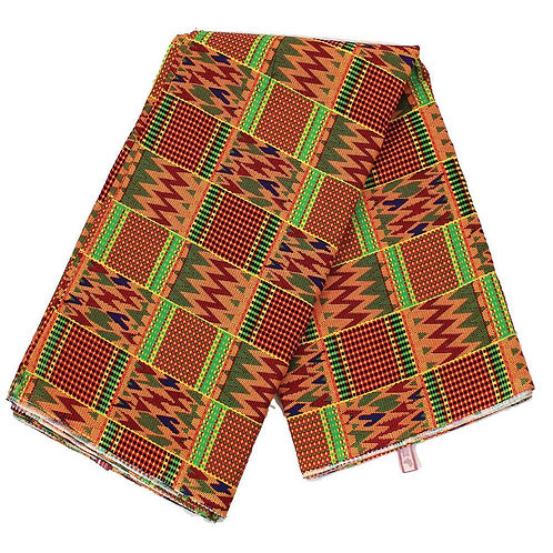 African-Made Kente Fabric