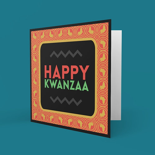Kwanzaa | Blank Greeting Card