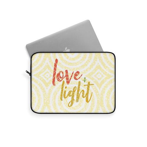 Love & Light Laptop Sleeve
