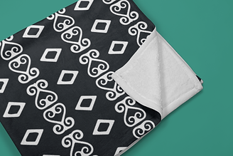 mockup-of-a-folded-throw-blanket-in-a-co