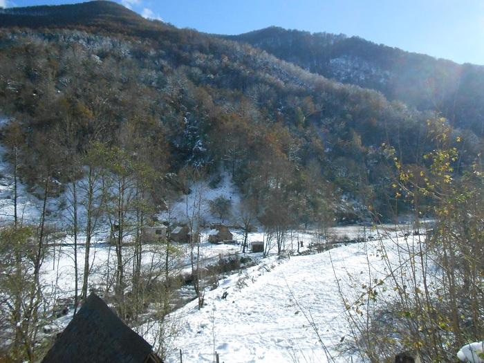 Souvent la neige tombe en novembre