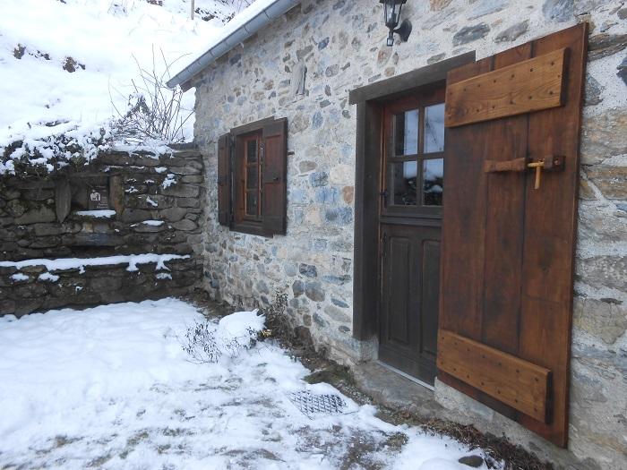 La neige persiste en février
