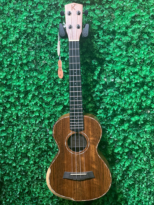 Kamehameha Ukulele MKT-20H EQ Tenor Walnut wood electric pickup