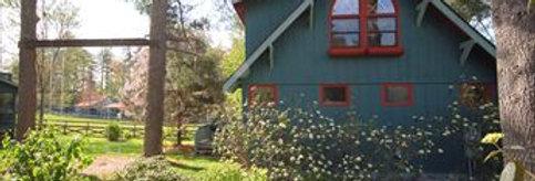 50% DEPOSIT for Lilac Cottage, Registration, & Meals