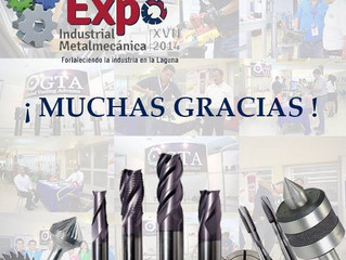 GTA CARBIDE presente en la EXPO INDUSTRIAL METALMECANICA 2014