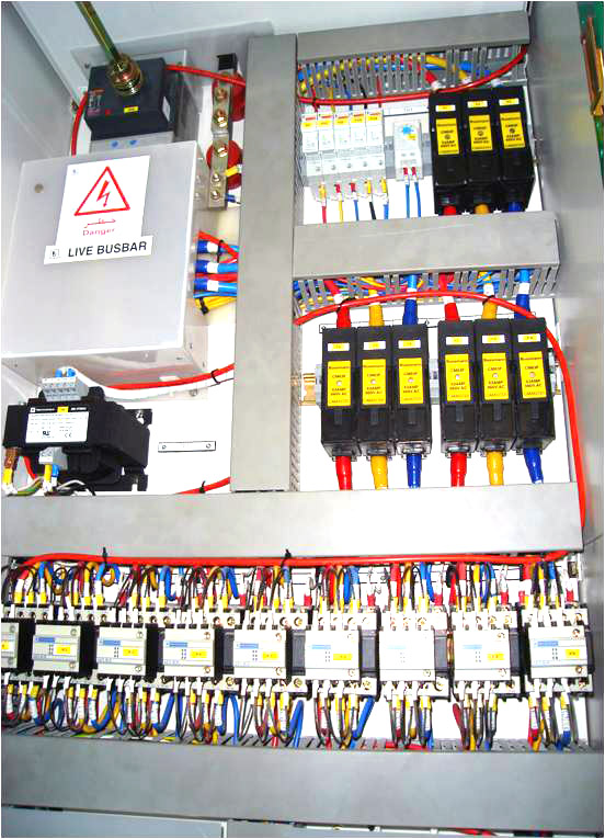 DLP install in electrical cabinet