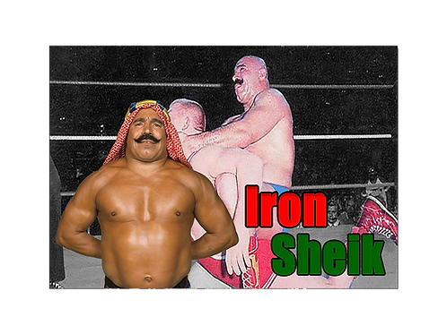 Iron Sheik (Camel Clutch)