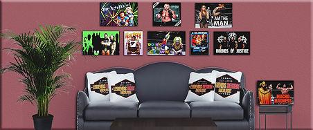Legends design house mock up living room