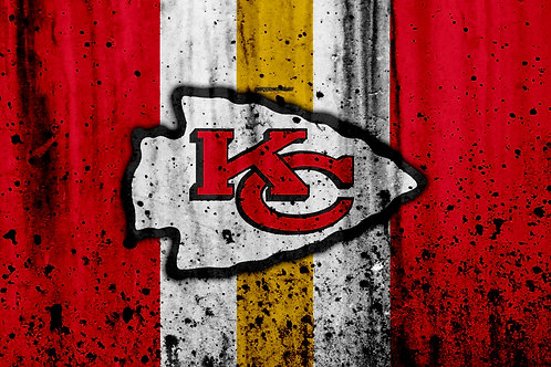 Kansas City Chiefs  Grunge Splat Logo (2020)