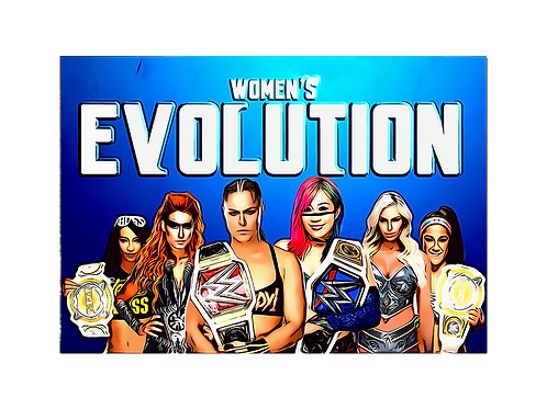 Women's Evolution (Large 12X18)