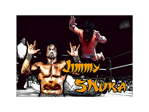 "Jimmy ""Superfly Snuka (In Action)"