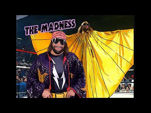"""Macho Man"" Randy Savage (Large) 12X18"