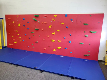 Climbing Wall in Children's Daycare