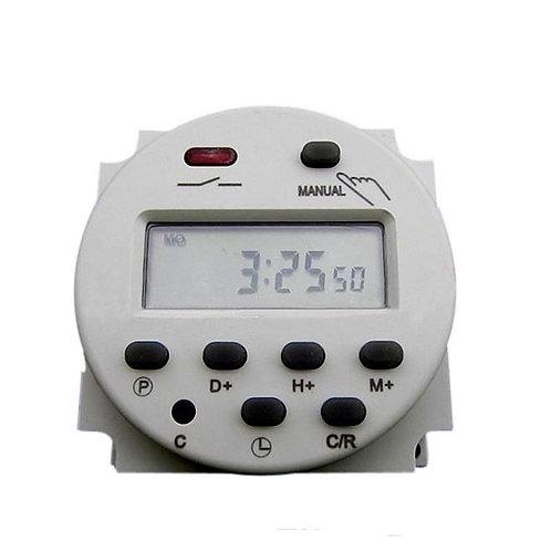 DC/AC 12V 16A LCD Digital-Display Haushaltsgerät Zeitschaltuhr Timer Programmier