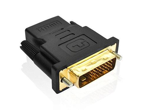DVI-D zu (HDMI, 4.80cm) Adapter