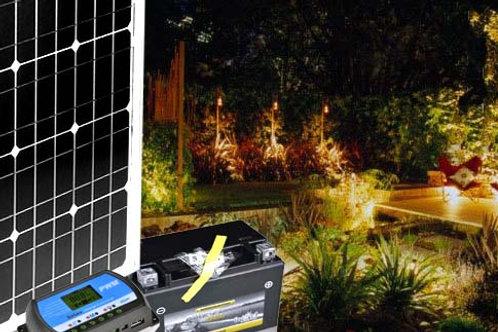Solarset 50W - Komplettpaket 50W mit Batterie