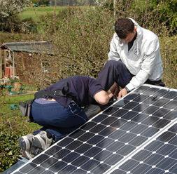 Installation Ihrer Solaranlage