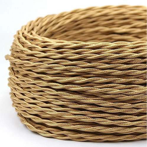 """Textilkabel Stromkabel """"5 meter"""""""