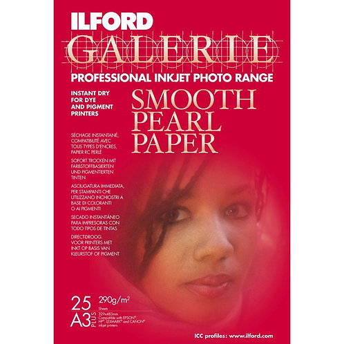 Ilford Galerie Smooth Pearl A3+ 25 Blatt