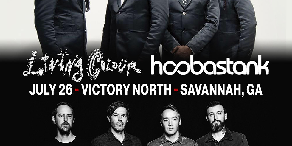 LIVING COLOUR AND HOOSBASTANK