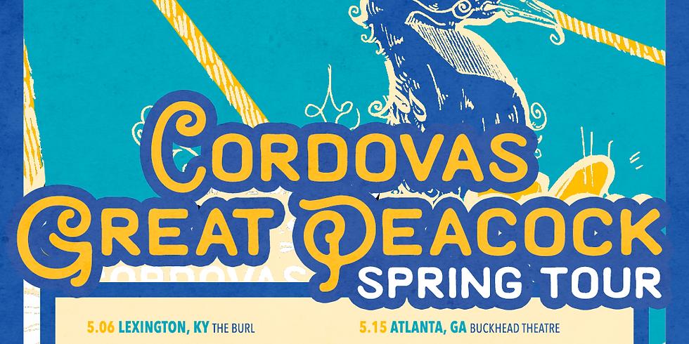CORDOVAS + GREAT PEACOCK SPRING TOUR