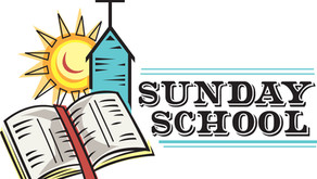 Welcome Back to Sunday School