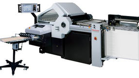 Horizon AFC-746F Computerised Cross Folder