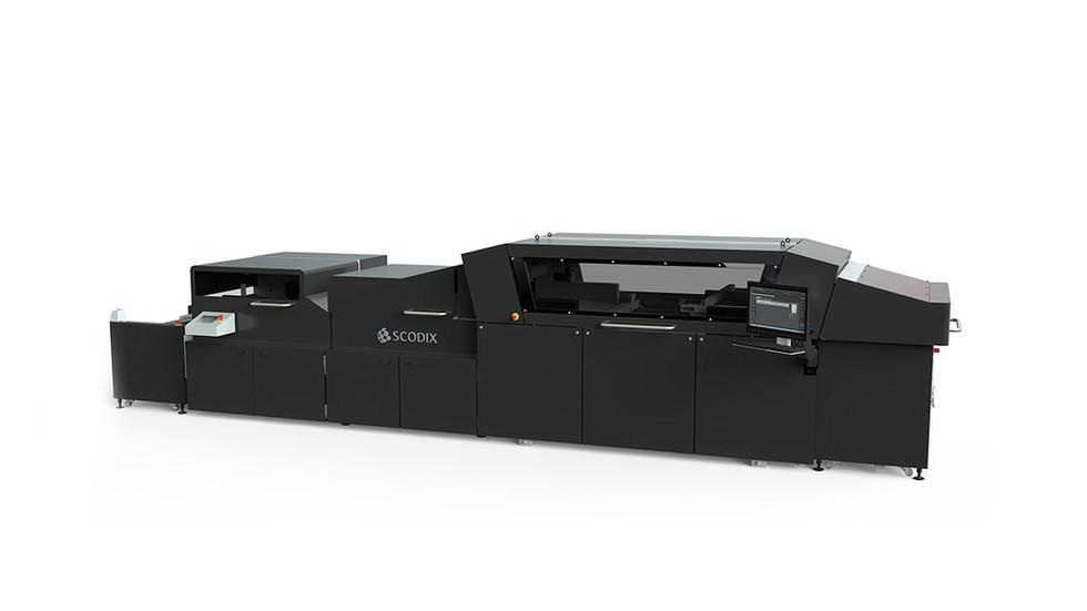 Scodix Ultra 202 Digital Enhancement Press