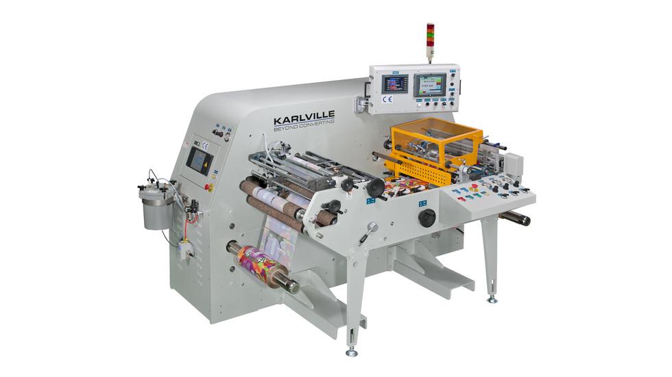 Karlville K2 Seamer for Shrink Sleeve Converting