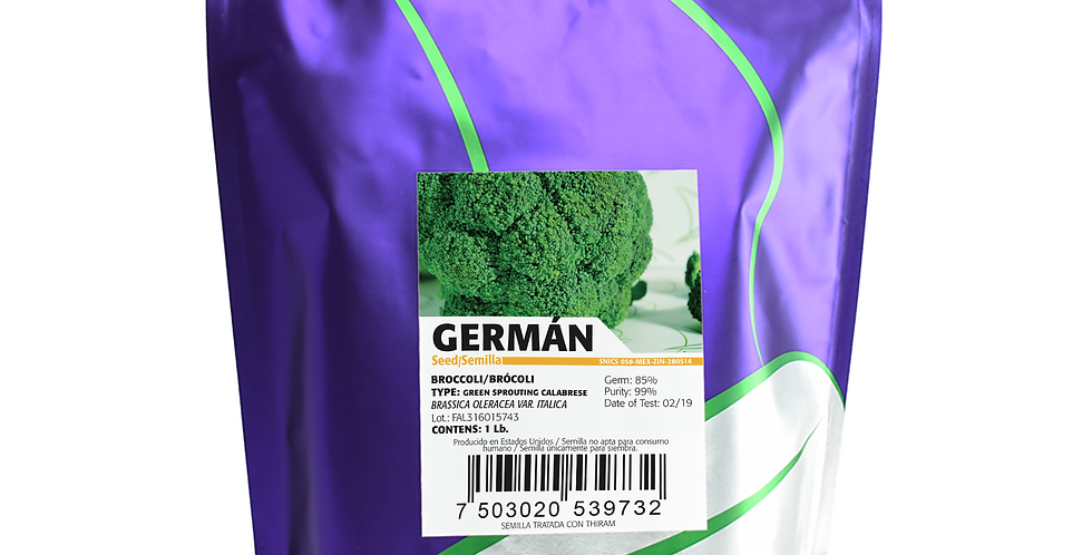 Brócoli German