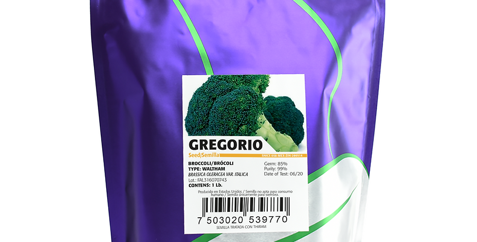 Brócoli Gregorio