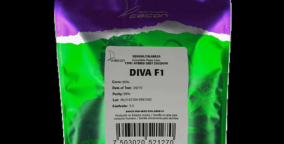 Calabaza Híbrida Diva F1