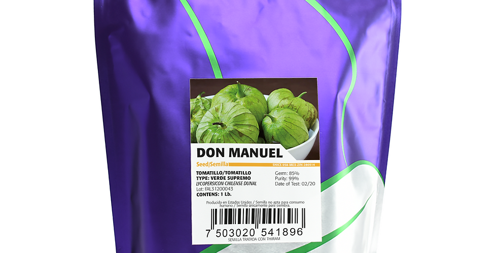 Tomatillo Don Manuel