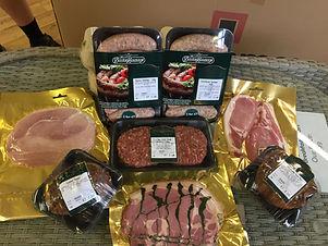 Boston Sausages, pork, traditional, farm, shop