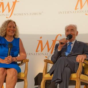 Co-Chair-Mina-Teicher-Hon.-Shimon-Peres-IWF-World-Cornerstone-Conference-Opening-Recep.jpg