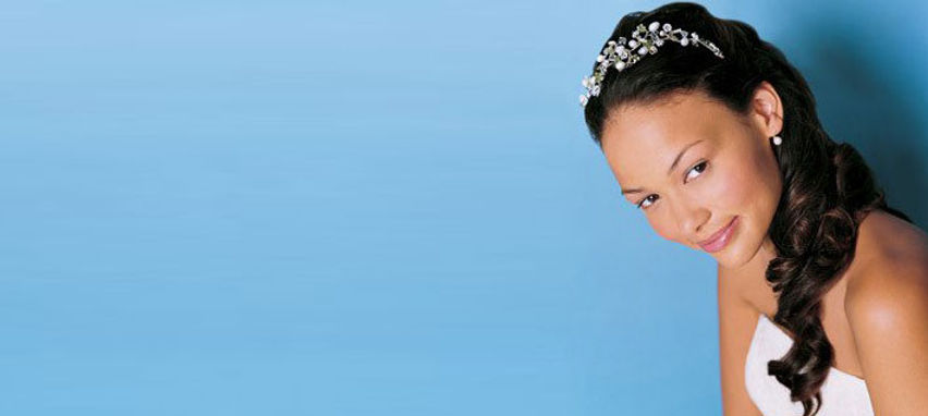 bride, wedding, make up, hair