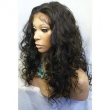 long naturally curled looking hair