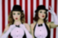 The Ravishing Shangri-La Rubies -a funny stylish burlesque duo