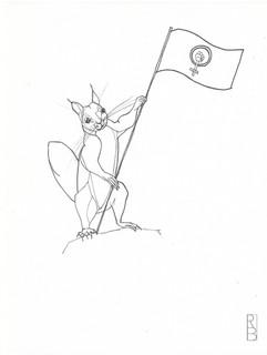 Eichhörnchen_Flagge