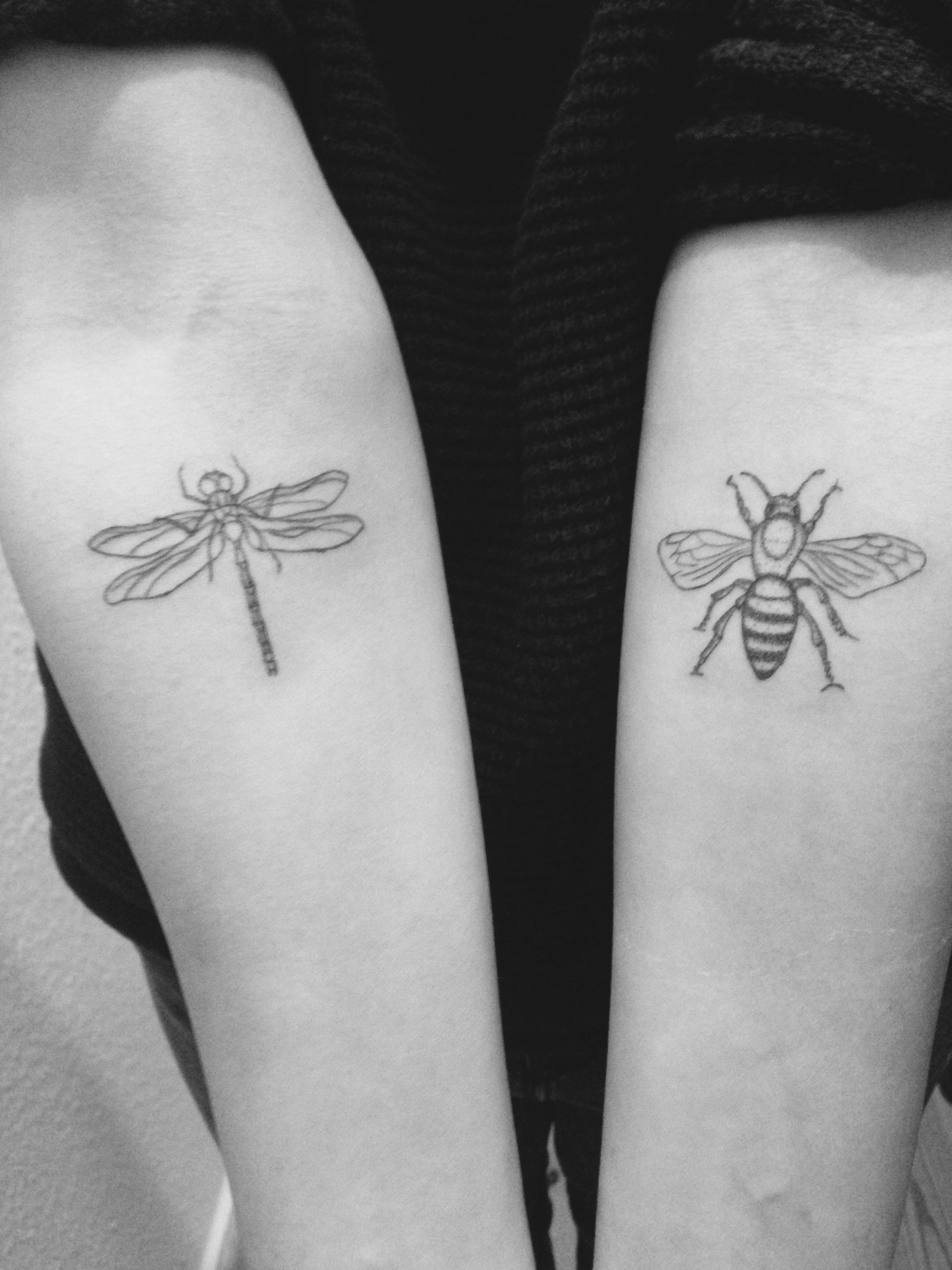 Libelle&Biene