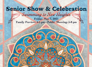 Senior Show and Celebration Post Card