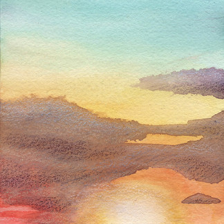 Watercolor Sunrise