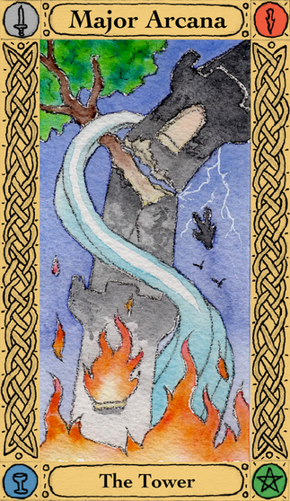 The Tower - Major Arcana
