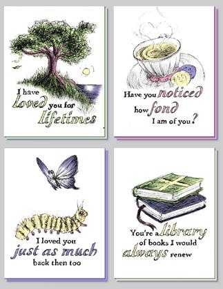 Amorously Archaic Cards